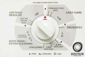 choose wash cycle