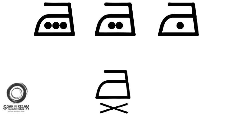 Laundry Care Symbols How To Read Them Soak N Relax Laundry Shop
